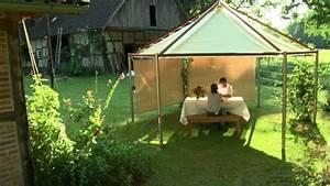 Fliesenfugen Wasserdicht Machen : gartenpavillon mit bl tterdach wasserdicht witterungsbest ndig youtube ~ Orissabook.com Haus und Dekorationen