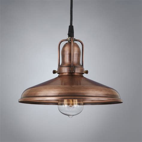woodhill copper antique pendant light antique vintage