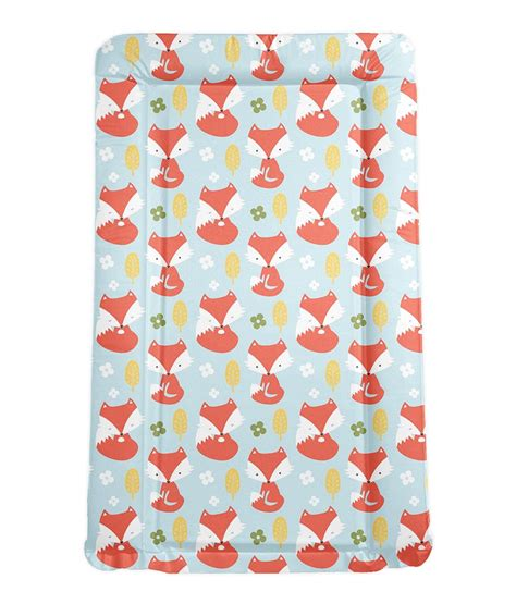 baby change mats foxes padded baby changing mat