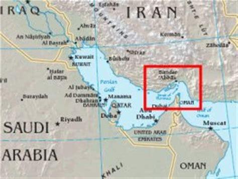 strait  hormuz map middle east foto bugil bokep