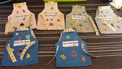 la cuisine de mamy carte tablier pour la fête des grands mères projets à