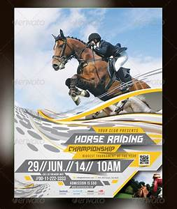 12  Marvellous Horse Flyer Templates  U0026 Designs