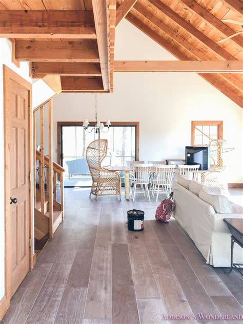 shaw floors hardwood tile   cabin renovation