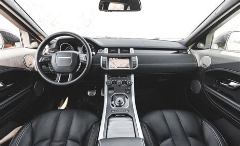 evoque land rover interior car and driver