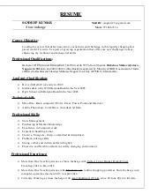 Store Incharge Resume by Store Incharge Resume