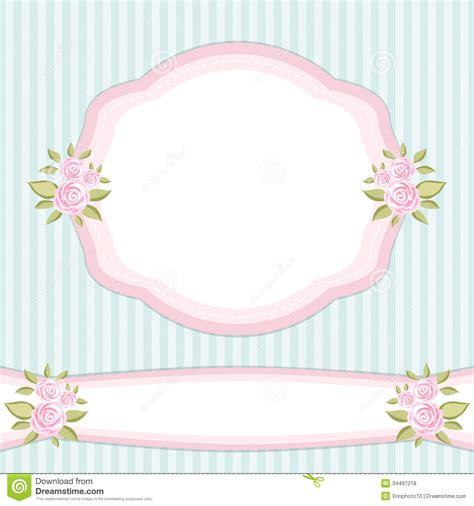 Vintage Frame 2 Stock Vector Illustration Of Blossom