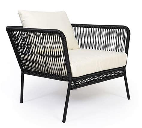 fauteuil de jardin fil noir mexico 189 salon d 233 t 233