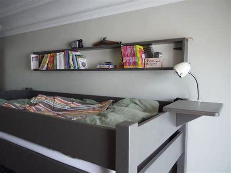 tablette pour lit superpose lit mezzanine enfant avec bureau int 233 gr 233 en bois