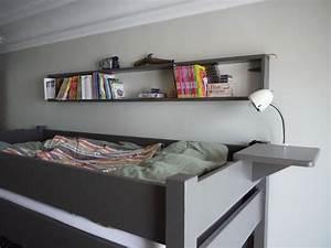 Lit mezzanine enfant avec bureau integre en bois for Luminaire chambre enfant avec matelas paris 14