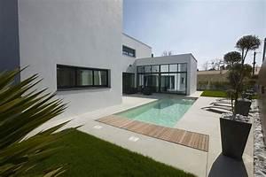 Maison Moderne Toit Plat : un toit dans l re du temps le toit plat maison moderne ~ Nature-et-papiers.com Idées de Décoration