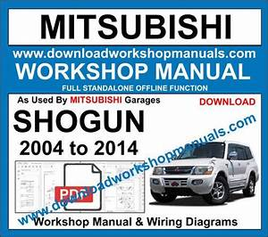 Mitsubishi Shogun Workshop Manual Download