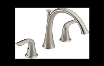 T2738 SS Lahara® Roman Tub Trim : Bath Products : Delta Faucet