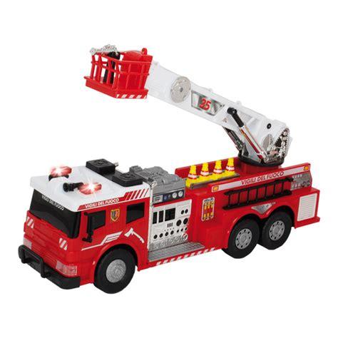 siege bébé camion de pompiers filoguidé motor co king jouet