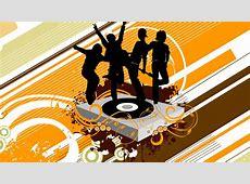 Vector music wallpaper HD Wallpapers