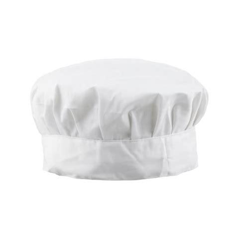 chapeau cuisine chef de cuisine professionnelle chapeau blanc achat