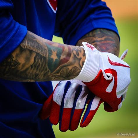 pros wear javier baez nike huarache elite batting