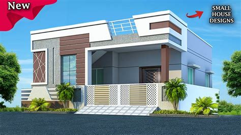 beautiful small house front elevation design ground