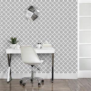 papier peint avec motif de trefle rouleau double With couleur papier peint tendance 1 papier peint pour couloir comment faire le bon choix