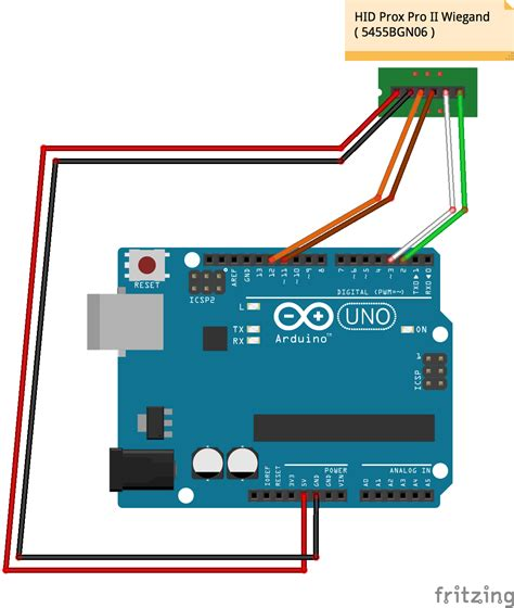Proxpro Hid Wiring Diagram by Hid Prox Rfid To Arduino Arduino Project Hub