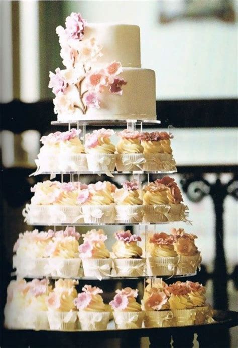 Top 25 Best Cupcake Wedding Cakes Ideas On Pinterest