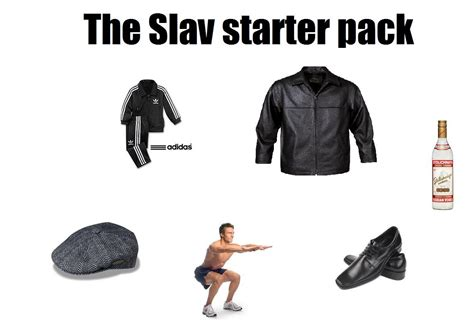 Slav Memes - the slav starter pack starter packs know your meme