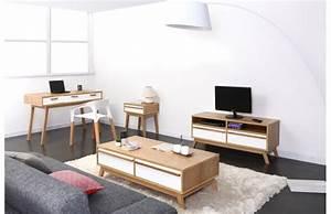 Meuble Tv Vintage Scandinave : meuble deco vintage pas cher ~ Teatrodelosmanantiales.com Idées de Décoration