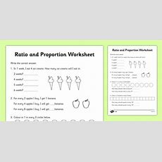 Ratio And Proportion Worksheet  Ratios, Ratios And Proportions