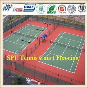 China Synthetic Rubber Itf High Quality Tennis Court ...