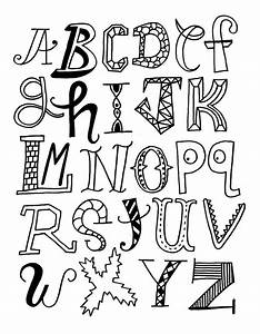 Alphabet Letters Coloring Pages | Realistic Coloring Pages