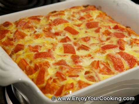 recipes for egg bake dishes baked egg omelette recipe my homemade food recipes tips enjoyyourcooking