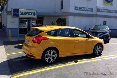 mile service  ford focus st long term road test
