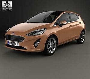 Ford Fiesta Titanium 2017 3d Model From Hum3d Com