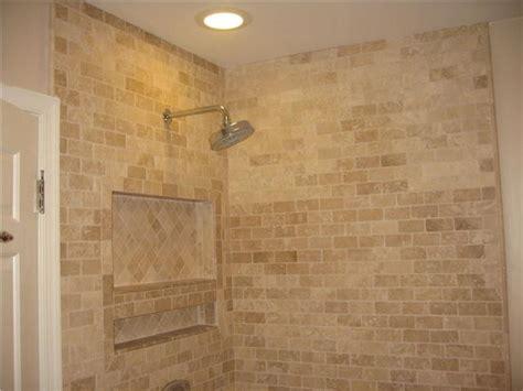 travertine bath tile