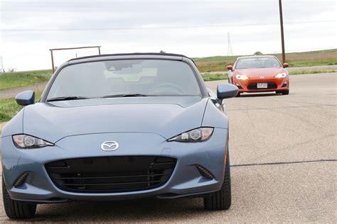 2016 Mazda Mx-5 Vs Scion Fr-s Road, Track & 0-60 Mph
