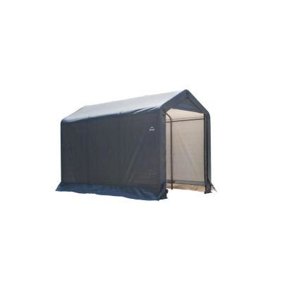shelterlogic shed in a box 6 ft x 10 ft x 6 ft grey