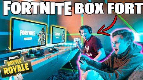 Ultimate Fortnite Gaming Box Fort 📦🎮 Fortnite, Gameplay