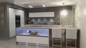 notre maison en provence par mygale83 sur forumconstruire With piscine avec ilot central 4 la cuisine blanche par cuisinella