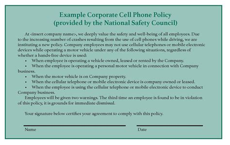 Why You Need A Written Cell Phone Policy