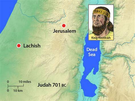 freebibleimages king hezekiah   assyrian invasion