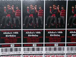 Mindless Behavior 10th B-Day Party Birthday Party Ideas ...