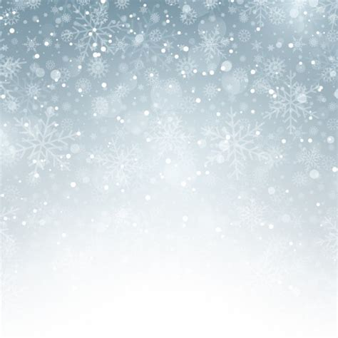 silver background with snowflakes vector free download
