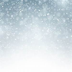 Silver background with snowflakes Vector | Free Download
