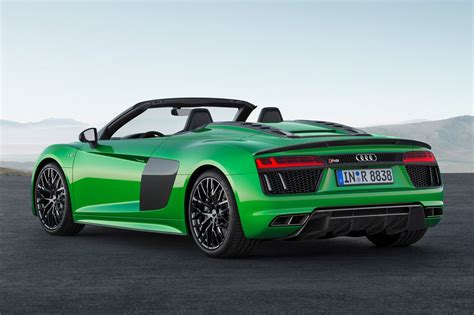 audi r8 the hulk goes new audi r8 spyder v10 plus
