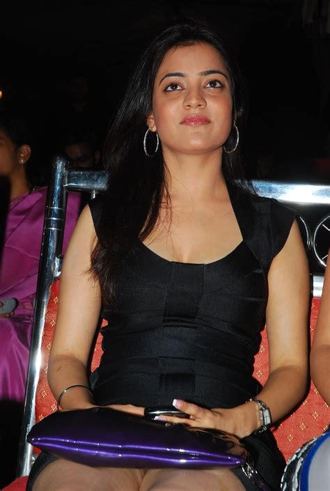 High Quality Bollywood Celebrity Pictures Hot South Indian Actress Nisha Agarwal Sexy In Black