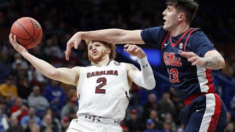 south carolina ole  basketball score recap march