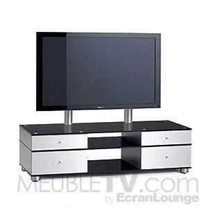Meuble Tv Avec Support Ecran Plat Table De Lit A Roulettes