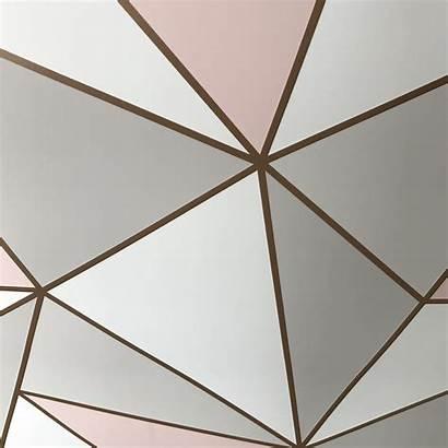 Geometric Rose Gold Apex Pinnacle Wallsorts Nobletts