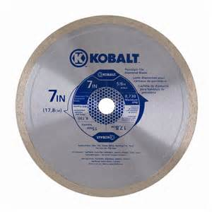 shop kobalt 7 in wet continuous diamond tipped steel