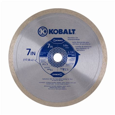 shop kobalt 7 in continuous tipped steel