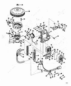 Evinrude 1977 55 - 55773d  Ignition System